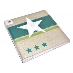 Wahlter Album Stellar do zdjęć, odbitek - 30x30cm. 100 kart, pergamin ZIELONY