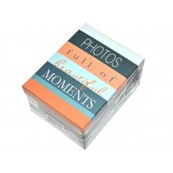 Wahlter Album Pudełko z przykrywką na zdjęcia 10x15 cm - stalowe
