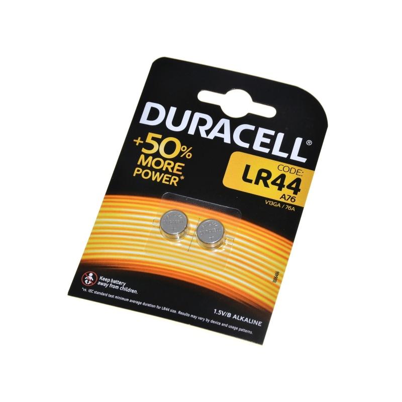 Duracell Bateria LR44 1,5V 2 szt. - alkaliczna - do aparatów