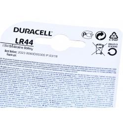 Duracell Bateria LR44 1,5V - alkaliczna - do aparatów