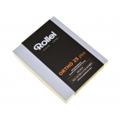 """Rollei Ortho Plus 4x5"""" 25 ASA - 25x ortochromatyczna Orto"""