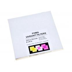 Foma Variant filtry wielogradacyjne - 6 sztuk 15,2x15,2 cm.