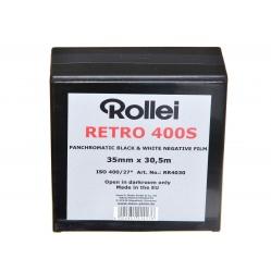 Rollei Retro 400S 35 mm. - puszka 30,5m. - film z metra