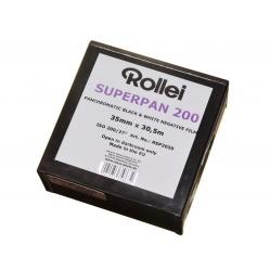 Rollei Superpan 200 film klisza z metra z puszki - 30,5 m.