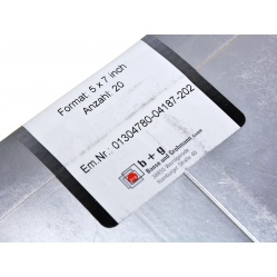 Wephota Błona graficzna FO5 13x18cm/20 ortochromatyczna