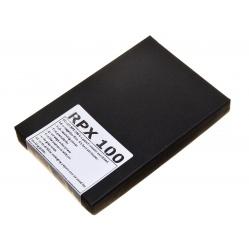 Rollei RPX 100 4x5 cala 25szt. błona cięta 10,2x12,7cm.