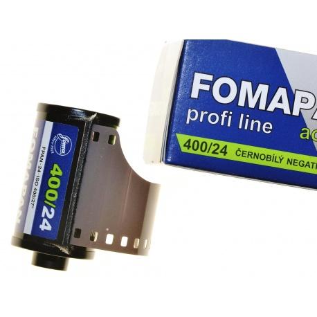 Foma Fomapan 400/24 Action film czarno-biały B&W do koreksu