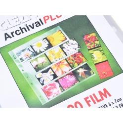 Clearfile Koszulka PP przezroczysta na film 120 - 6x7 do segregatora - 10szt