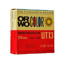 Wywołanie 1 filmu barwnego z kamery 2x8, DS8 ZIMNY PROCES