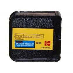 Wywołanie 1 filmu barwnego S8 z kamery proces E6, C41, ECN2