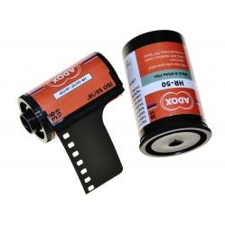 Adox HR-50 50/36 klisza o uczuleniu superpanchromatycznym