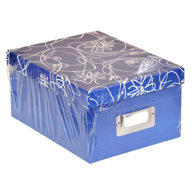 Pudełko Album na zdjęcia 700szt 10x15 cm Decori granat