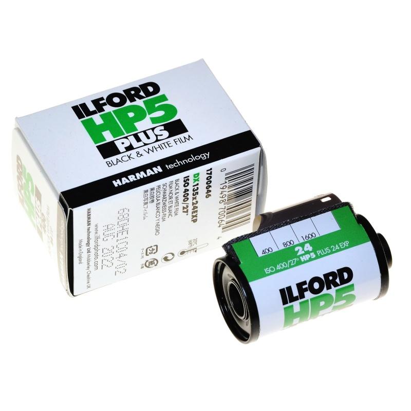 Harman Ilford HP5 400/24 film czarno-biały do zdjęć