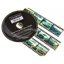 Skanowanie filmu slajdu barwnego 35mm + skan na CD