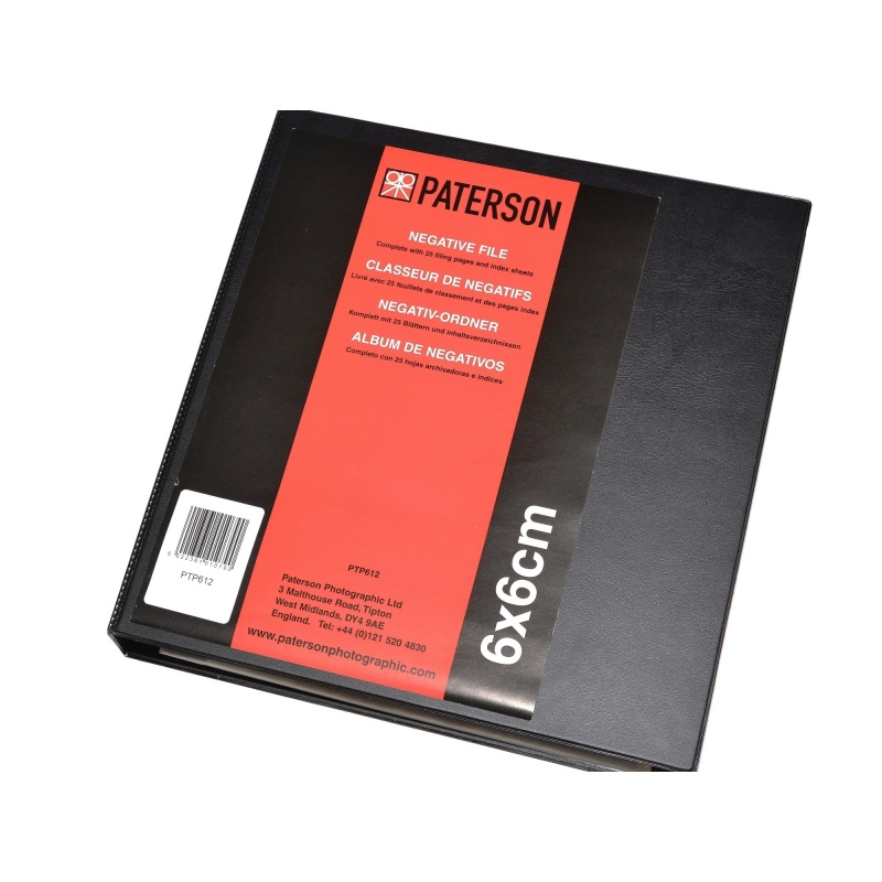 Paterson Segregator na negatywy typ 120+25 koszulek