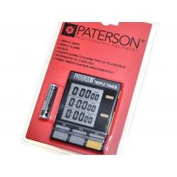 Paterson Zegar ciemniowy z 3 wyświetlaczami do wywoływania