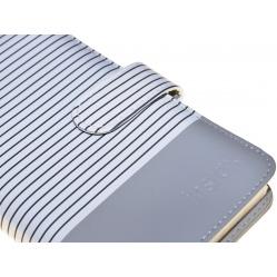 Fujifilm Fuji Album Instax Mini 9 Striped szary na 108 zdjęć
