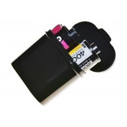 Rollei pojemnik do ochrony i przechowywania filmów 35 mm.