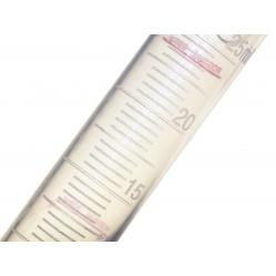 Adox Menzurka 25 ml. półprzezroczysta, miarka ze skalą do Rodinalu