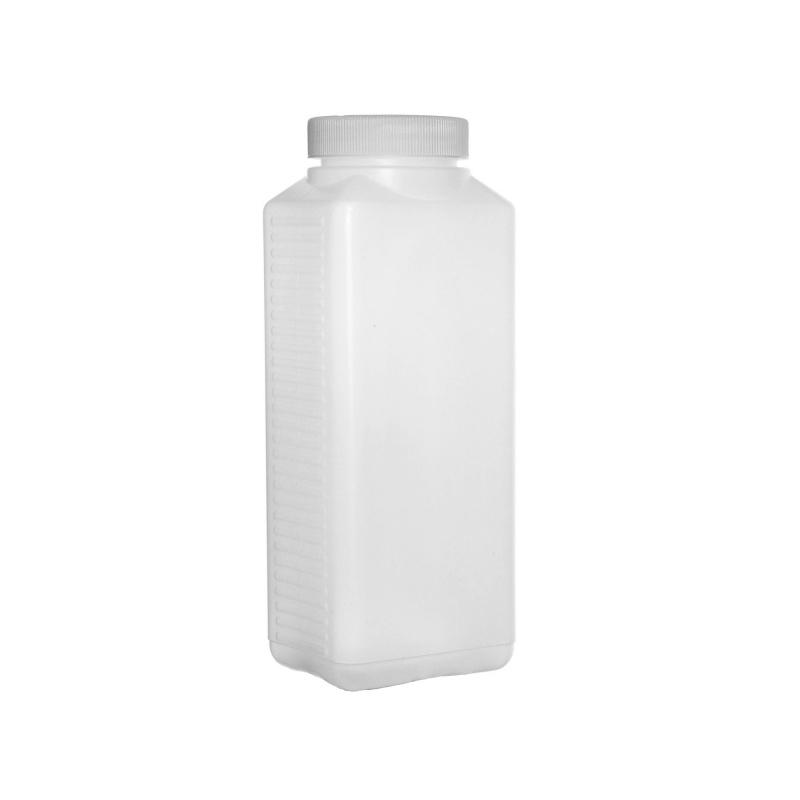 Butelka biała 1000 ml. na chemię fotograficzną, utrwalacz