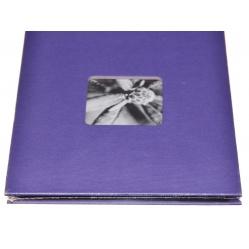 Hama Album Fine Art 24x17cm - 50 kartonowych czarnych stron z pergaminem