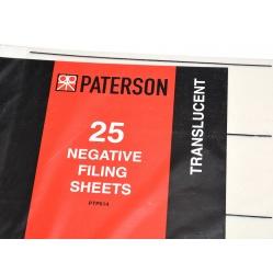 Paterson Koszulki pergamin na film typ 120 - 25 sztuk