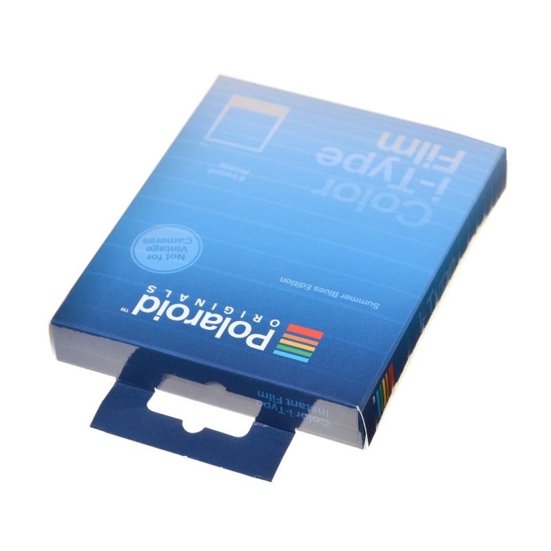 Polaroid Color Film Summer Blues I-Type I-1 Onestep 2 wkład