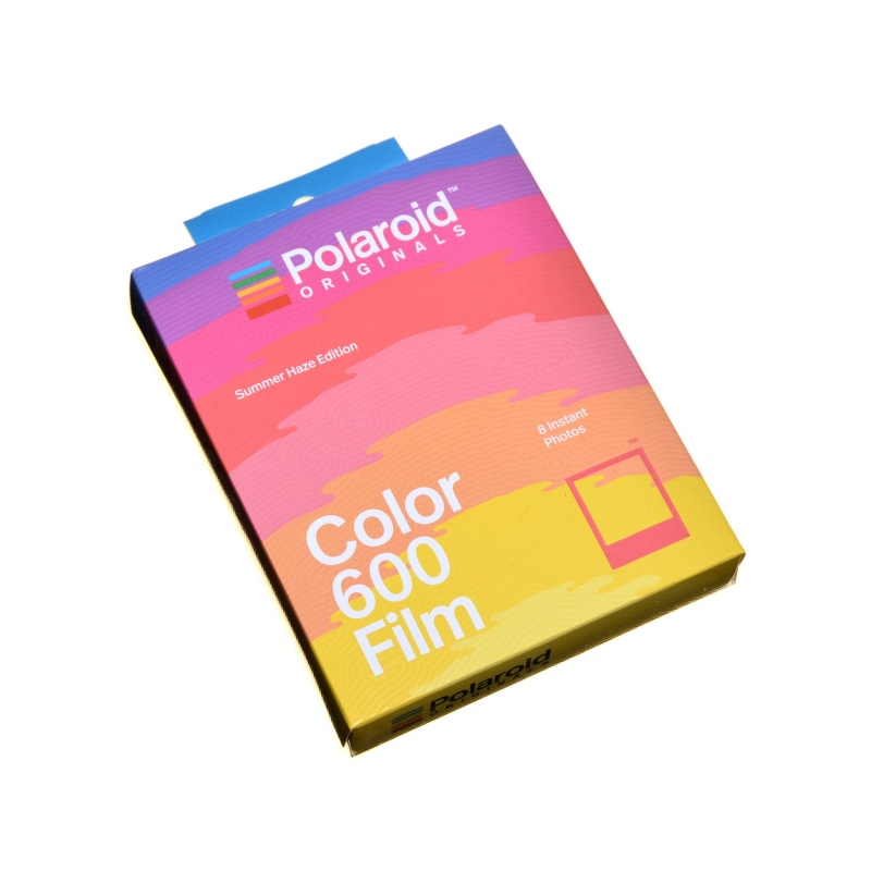 Polaroid Impossible Color Film 600 Summer Haze wkład 8 zdjęć