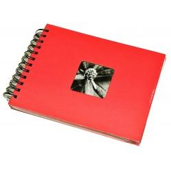 Hama Album Fine Art 24x17cm - 50 kartonowych czarnych stron z pergaminem - orchidea