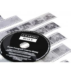 Skanowanie kliszy, filmu czarno-białego 35 mm. + płyta CD
