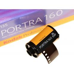 Kodak Professional Portra 160/36 - zawodowy na ślub - 1 film.