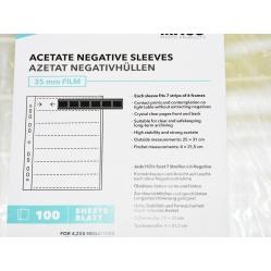 Koszulki acetatowe, acetat 35mm 10 sztuk wysoko przezroczyste folie na filmy
