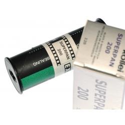 Rollei Superpan 200/120 klisza na slajd i zdjęcia B&W