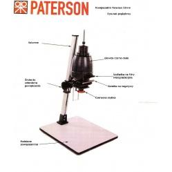 Paterson Powiększalnik głowica czarno-biała 24x36 plus obiektyw 4,5/50mm