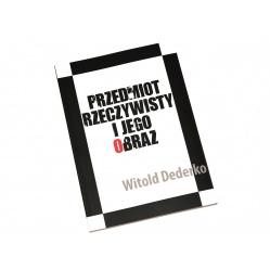 Książka Przedmiot Rzeczywisty i Jego Obraz - Witold Dederko