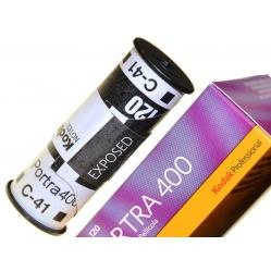 Kodak Professional Portra 400/120 film kolorowy do ślubu 1szt.