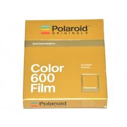 Polaroid 600 Color Film Gold Frame - wkład, ładunek kolorowy