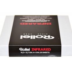 """Rollei IR 400 Infrared 820 nm. 4x5""""/25 film na podczerwień NA ZAMÓWIENIE"""