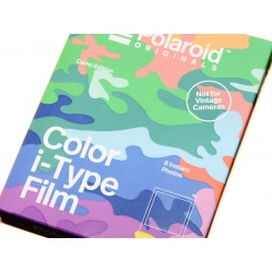 Polaroid Color Film Camo Edition I-Type I-1 Onestep 2 wkład