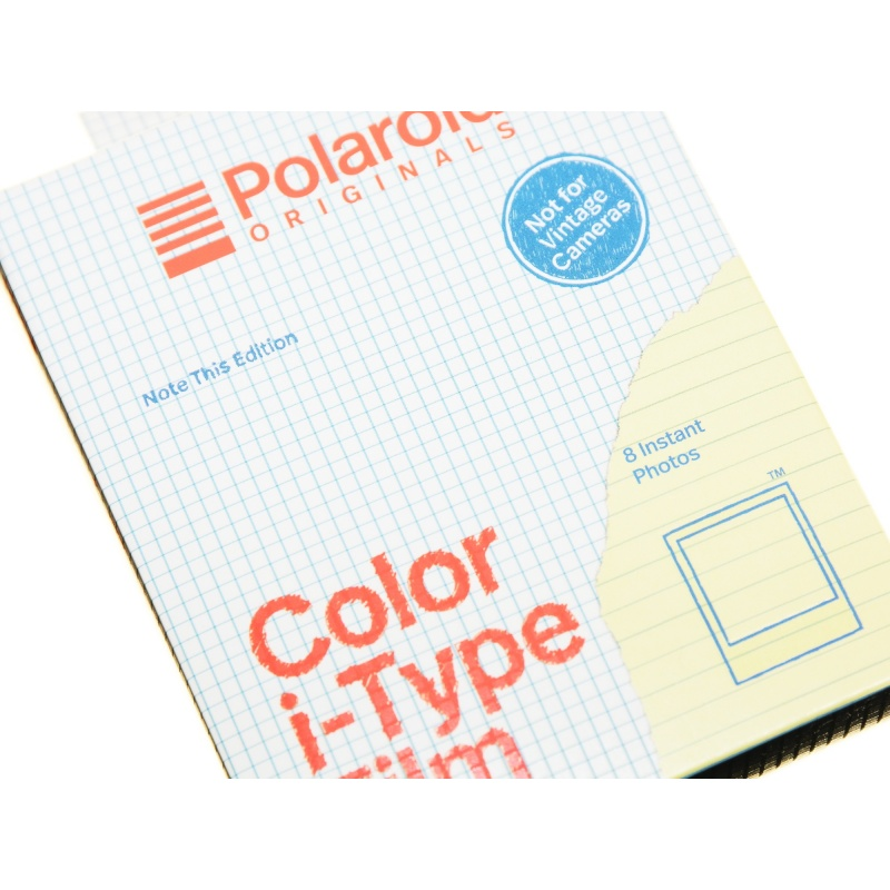 Polaroid Color Film Note This Edition I-Type I-1 Onestep2 wkład
