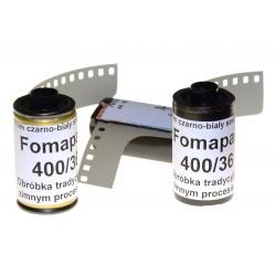 Foma Fomapan 400/33 klisza czarno-biała z puszki 3 FILMY