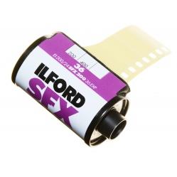 Ilford SFX 200/36 film na bliską podczerwień infrared IR 24 DIN