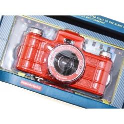 Lomography Sprocket Rocket panorama 35mm, aparat LOMO - czerwony