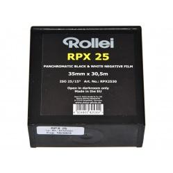 Rollei RPX 25 35 mm film BW do odbitek - puszka 30,5 metra