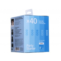 Polaroid Color 600 Film 5 pudełek - 40 zdjęć kolorowych