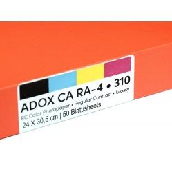 Adox CA 310 papier kolorowy RA4 do odbitek kolorowych 24x30/50