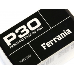 Ferrania P30 film czarno biały 35 mm. do zdjęć - 80 ASA