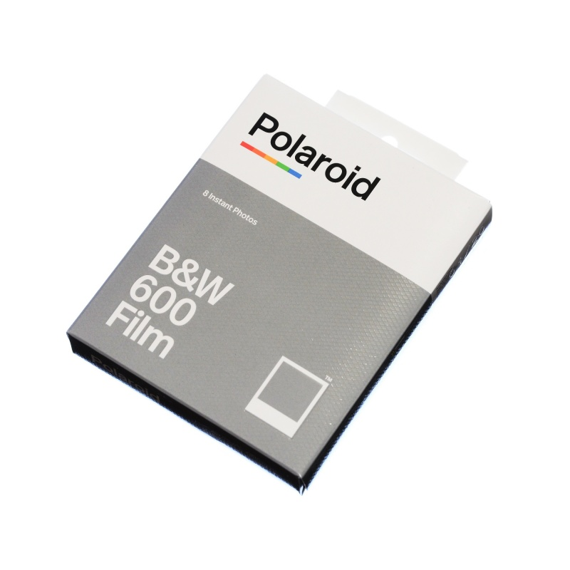 Polaroid B&W 600 Film NEW wkład 8 zdjęć czarno białych