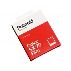 Polaroid Color SX-70 Film White Frame - wkład natychmiastowy 8 zdjęć