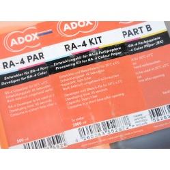 Adox zestaw do odbitek, zdjęć kolorowych proces RA4, RA-4 na 2,5l.